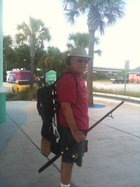 Pier Fishing at Vilano Beach Florida
