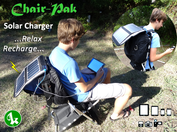 Chair-Pak Solar Charger