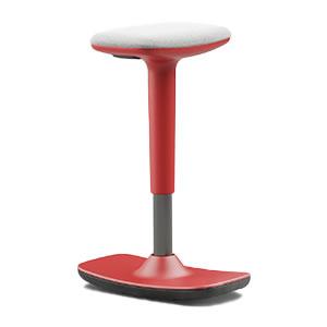 Leo #02. Colourful rocker stool