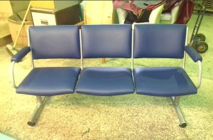 Repaired seating
