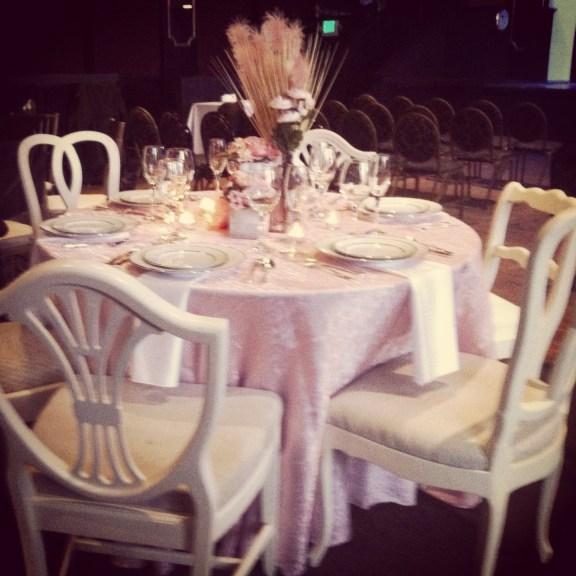 white mismatched vintage chairs denver longmont colorado