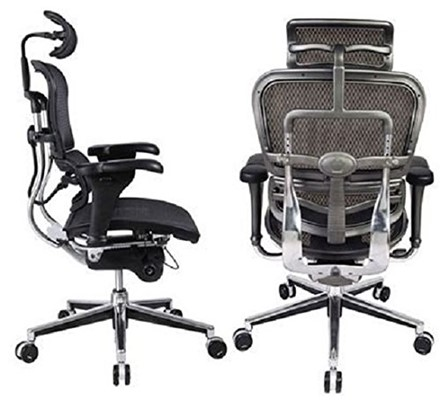 Ergohuman High Back Chair - best chair for sciatica relief