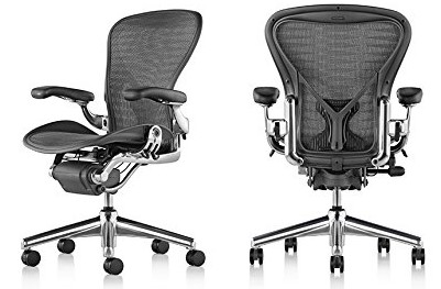 Herman Miller Aeron - Most comfortable office chair under 1000