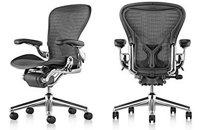 Herman Miller Aeron - Most comfortable office chair under 1000