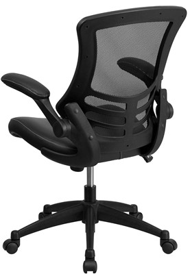Flash Furniture Mid Back - best living room chair for lower back pain