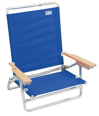 Rio Brands 5 Position Beach Chair - best beach chair with canopy