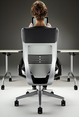 steelcase gesture with headrest