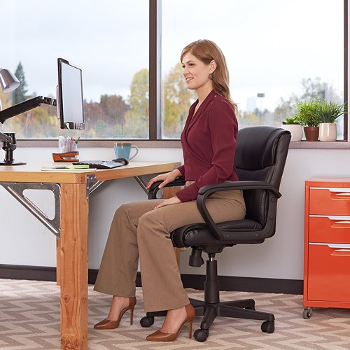 AmazonBasics Mid Back Chair - most durable office chair