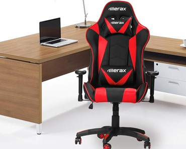 Merax Gaming Chair Review - best pc gaming chair under 200