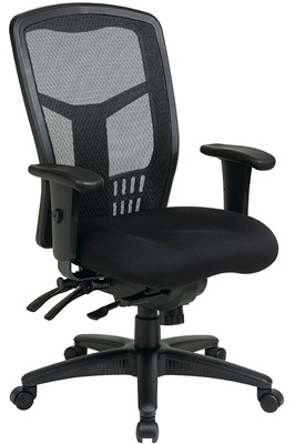Office Star High Back ProGrid Back - Most comfortable computer chair
