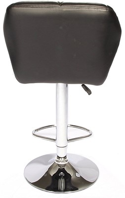 BestOffice Hydraulic Swivel Dinning Bar Stool B01 - upholstered bar stools with back and arms