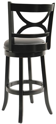 Boraam 43729 Florence Bar Height Swivel Stool - swivel bar stool with backrest