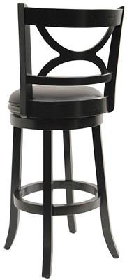 Boraam 43729 Florence Bar Height Swivel Stool - swivel bar stool with backrest