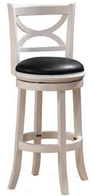 Boraam 43729 Florence Bar Height Swivel Stool - swivel bar stools with back metal