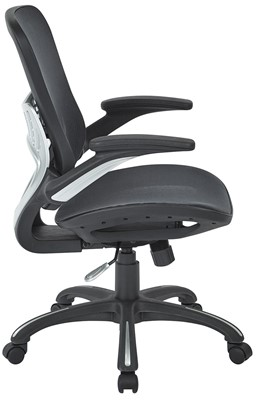 Office Star Mesh Back Chair - office chair for short heavy person