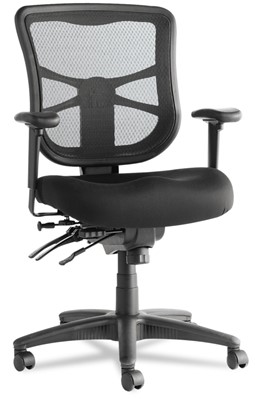 Alera Elusion Series - mesh high-back multifunction chair