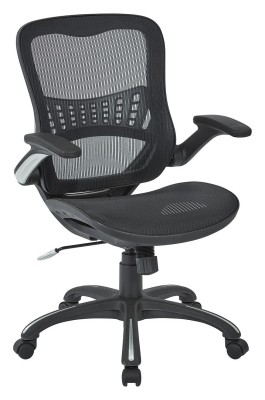Office Star Mesh Chair - office chair sitting back pain
