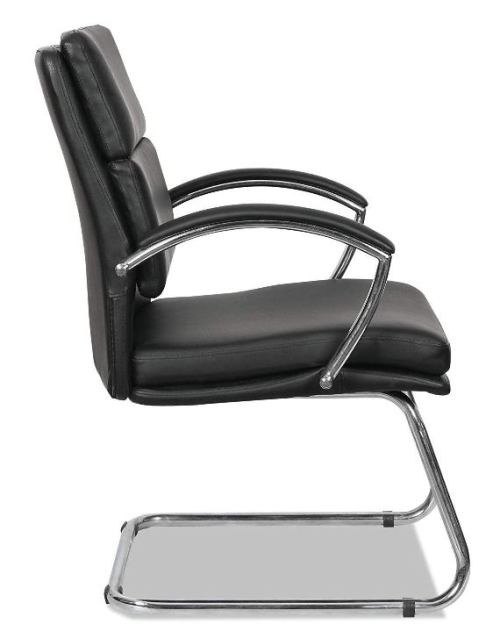 Alera Madaris Leather Guest Chair-Top 10 Best Visitor Chair Reviews for Office Amazon