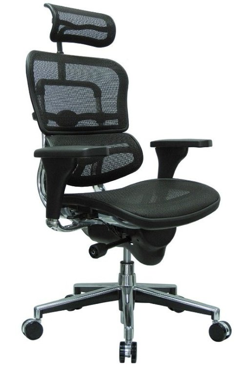 Ergohuman High Back Swivel Chair-Top 10 Best Office Chairs Reviews for Tall People