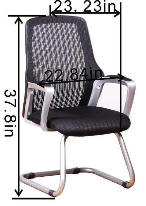 Office Factor Ergonomic Mesh Guest Chair-Top 10 Best Visitor Chair Reviews for Office Amazon