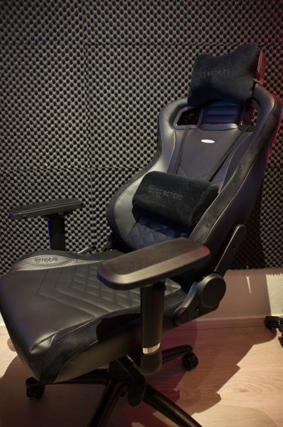 NobleChairs Epic Cuir deuxième du top 10 fauteuils gamer