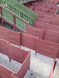 Wooden Maze Walls