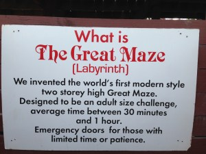 The Great Maze