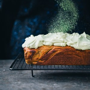 Butternut Pumpkin Bread with Matcha Cream Cheese — Green Kitchen Stories