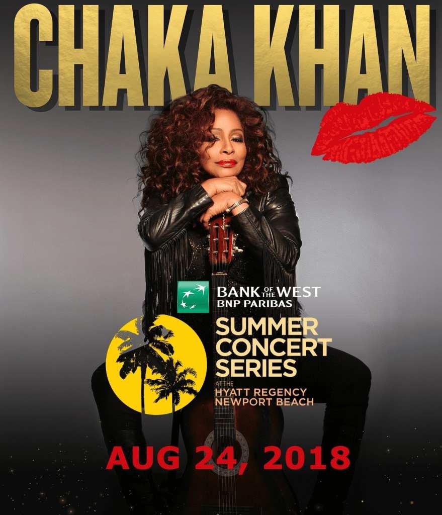 Chaka Khan Promo Image New Port Beach 2018