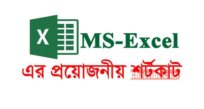 MS Excel টিউটোরিয়াল