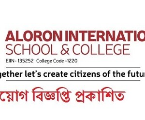 Aloron International School & College Job Circular