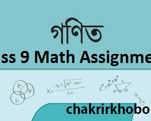 class 9 math assignment