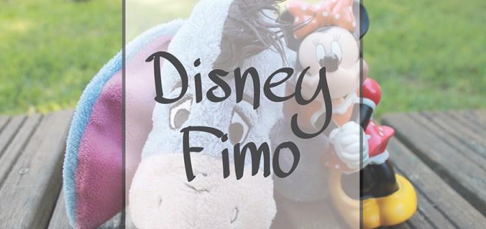 personnages Disney en pate Fimo