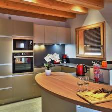 Chalet Arpitan kitchen
