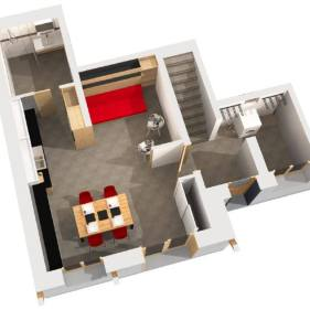 chalet-arpitan-studio floorplan