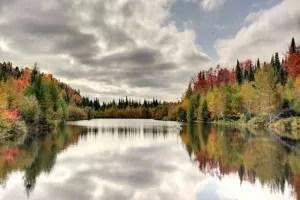Lac Huron automne