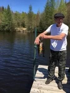 pêche au Lac Huron