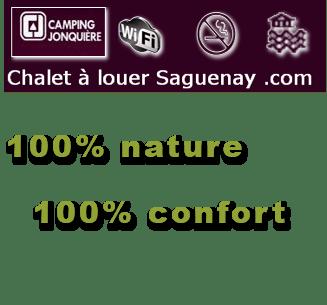 Chalet a louer Saguenay Logo