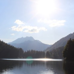 Dusk at Lac Montriond 4