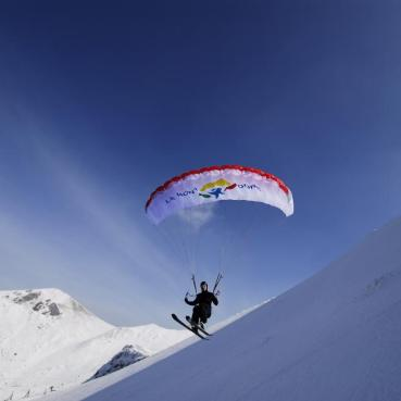 parapente ski