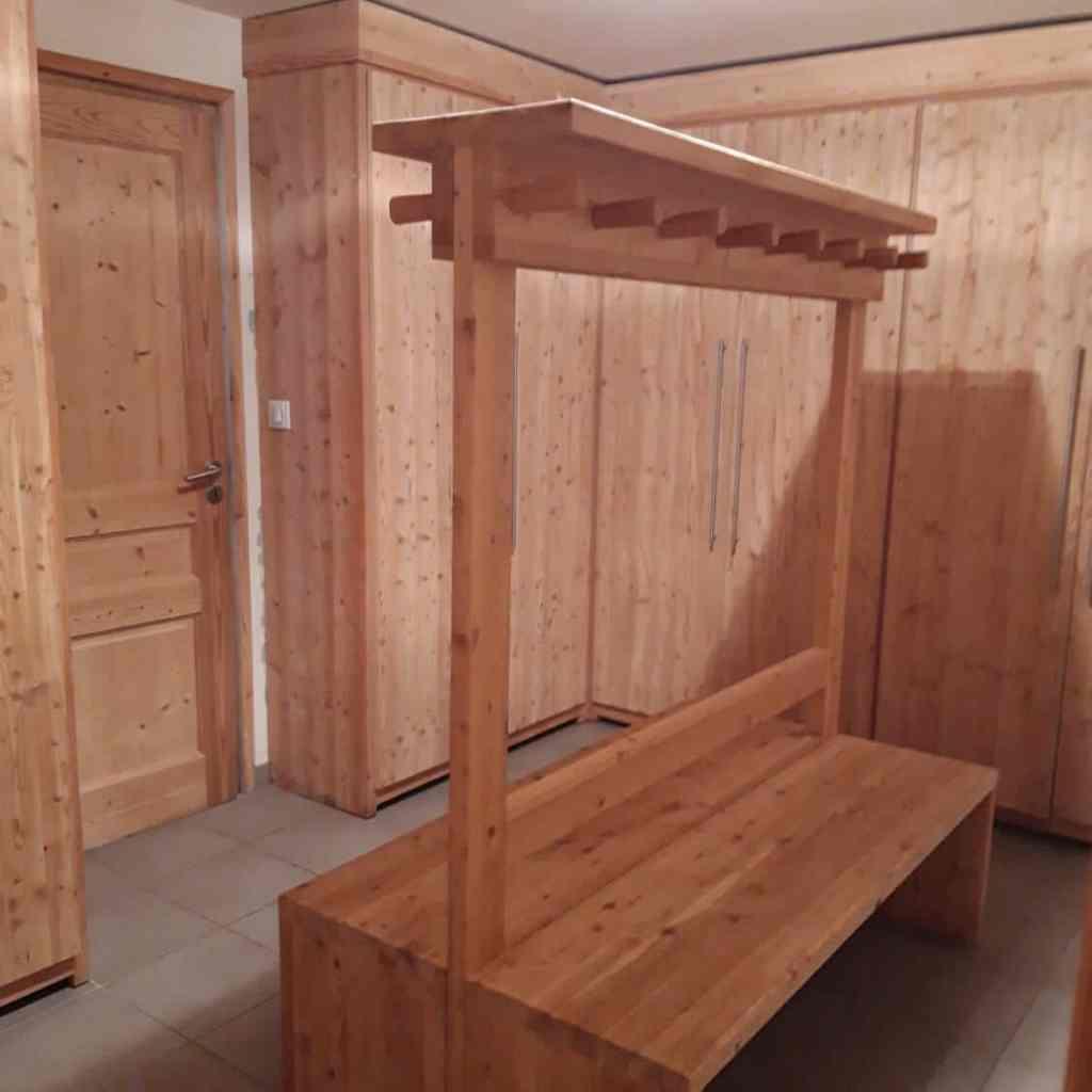 chalet Skidh . Ski-room