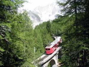 Vallée chamonix - train montenvers - location été