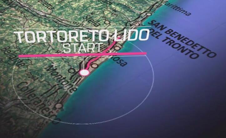 Il prossimo sabato 18 maggio vieni con noi per vedere la partenza della Tappa 8 del Giro d'Italia