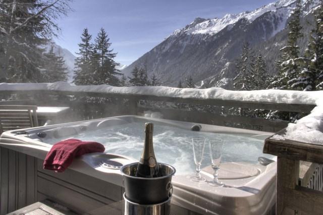 Location de chalets avec jacuzzi privatif à Chamonix Mont-Blanc