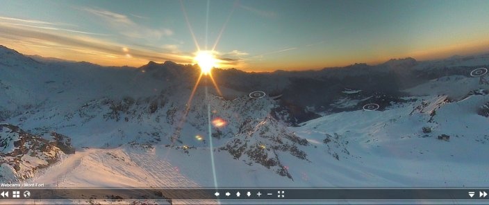 Mont Fort web cam