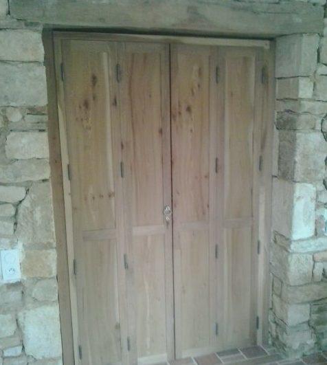 porte phonique à 4 vantaux
