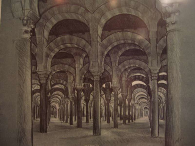 La Mezquita (M.C. Escher, 1936)
