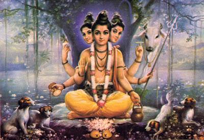 hindu-god-dattatreya