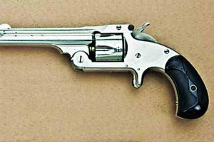 Smith & Wesson revolvers model 1 2 3