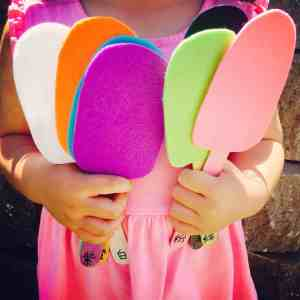 Counting & Color-Matching Popsicles